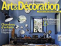 Art & Décoration -Septembre 2013
